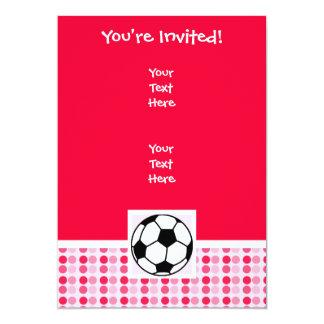 Cute Soccer Ball Card