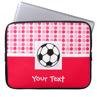 Cute Soccer Ball Laptop Sleeve