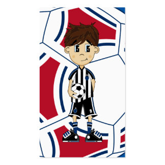 Cute Soccer Boy Bookmark Pack Of Standard Business Cards