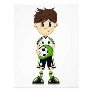 Cute Soccer Boy Flyer