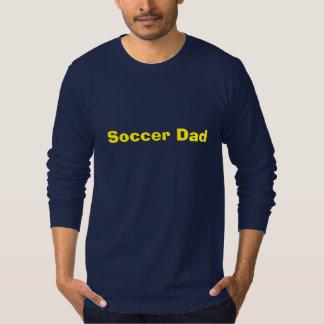Cute Soccer Dad Long Sleeve T Tees