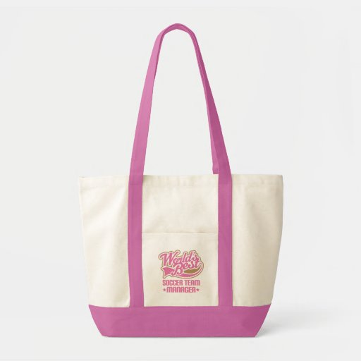 Cute Soccer Team Manager Gift Bags
