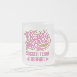 Cute Soccer Team Manager Gift Mug