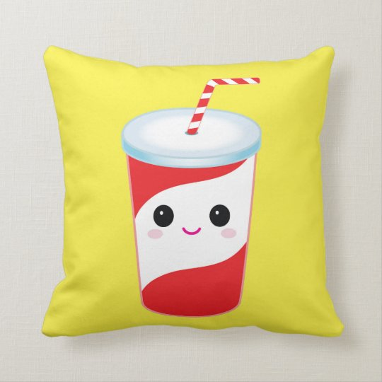 Cute Sods Throw Pillow-Decorative Food Pillow