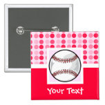 Cute Softball Badge