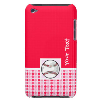 Cute Softball Barely There iPod Cover