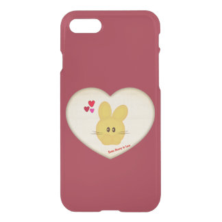 Cute Some Bunny to Love Heart Motif iPhone 8/7 Case
