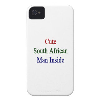 Cute South African Man Inside iPhone 4 Covers