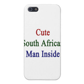Cute South African Man Inside iPhone 5 Case