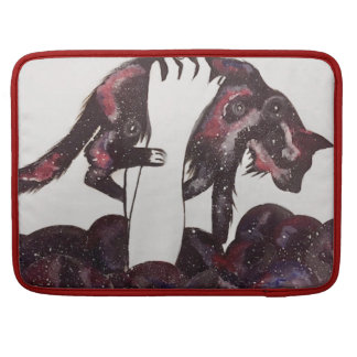 """Cute """"Space Cat""""  Laptop Case Sleeves For MacBooks"""