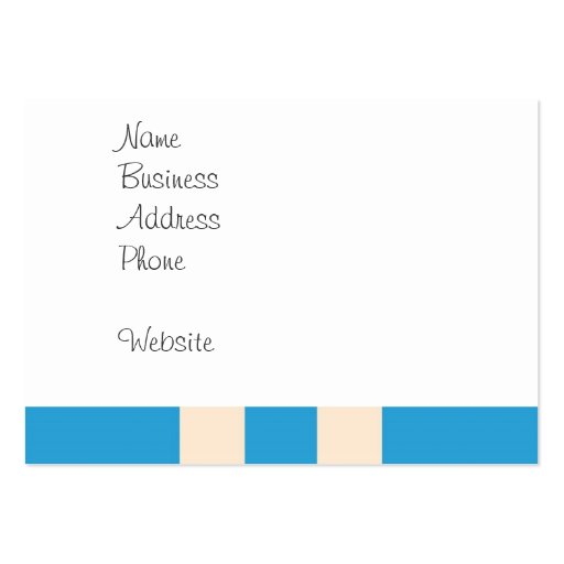 Cute Space Ship Rocket Outer Space Blue Kids Business Card