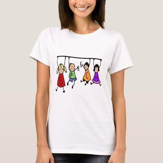 Cute Speech Therapy Kids Cartoon T-Shirt