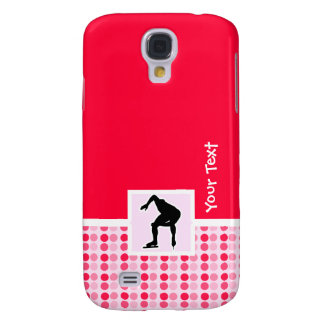 Cute Speed Skater Samsung Galaxy S4 Cases