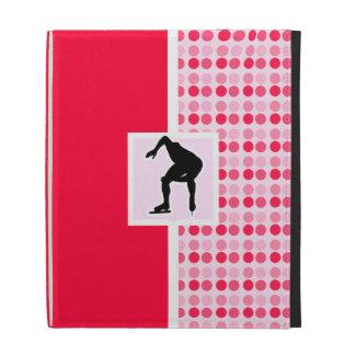 Cute Speed Skater iPad Folio Case