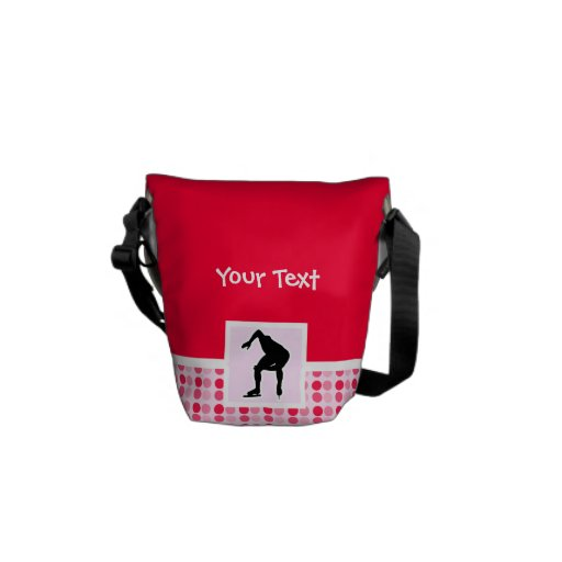 Cute Speed Skater Courier Bag