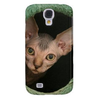 Cute sphynx kitten galaxy s4 case
