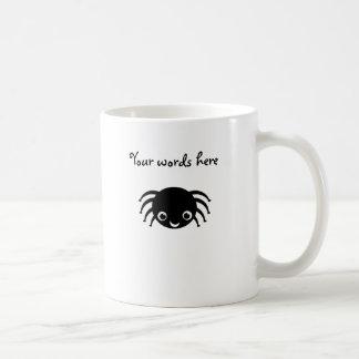 Cute spider basic white mug