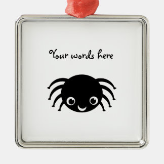 Cute spider christmas ornament