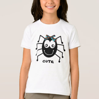 """""""Cute"""" Spider T-shirt for Girls"""