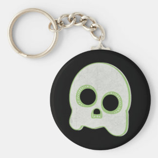 Cute Spook Ghost Design Keychain