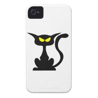 Cute spooky cat iPhone 4 covers