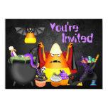 Cute Spooky Treats Halloween Birthday Party Invite 11 Cm X 16 Cm Invitation Card
