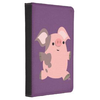 Cute Sporty Cartoon Pig Kindle 4 Case