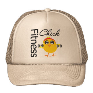 Cute Sporty Fitness Chick Cap