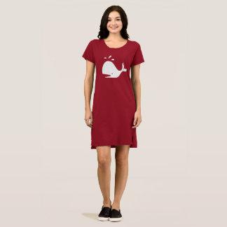 Cute Spouting Whale 4Cornelia Dress