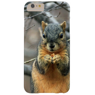 Cute squirrel and his nut barely there iPhone 6 plus case