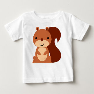 Cute Squirrel Baby Shirt