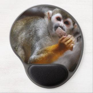 Cute Squirrel Monkey Gel Mouse Pad