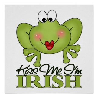 Cute St Patrick s Day Gift Posters