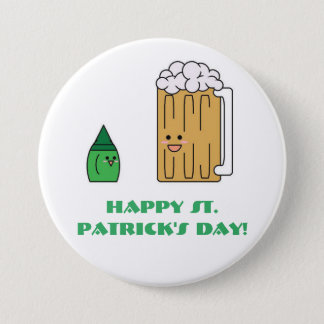 Cute St. Patrick's Day Button