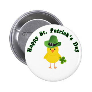 Cute St Patricks Day Button Affordable Gift