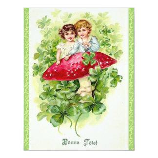 Cute St. Patrick's Day Party Invitations! 11 Cm X 14 Cm Invitation Card