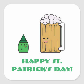 Cute St. Patrick's Day Sticker