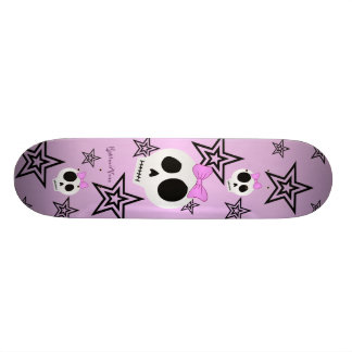 Cute Stars n Skulls Deck Skate Boards