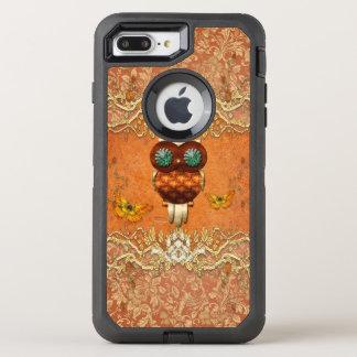 Cute steampunk owl OtterBox defender iPhone 8 plus/7 plus case