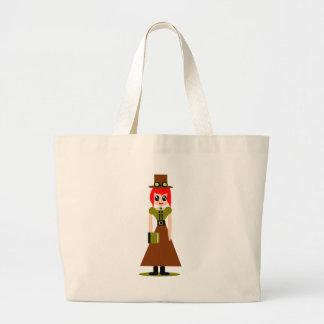 Cute steampunk steampunks large tote bag