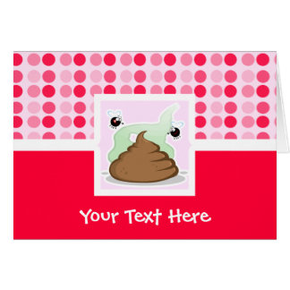 Cute Stinky Poo Greeting Card