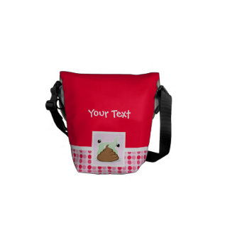 Cute Stinky Poo Messenger Bag