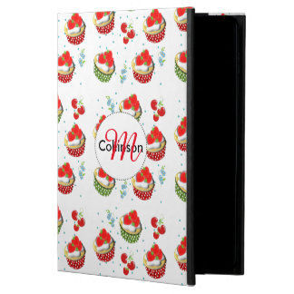 Cute Strawberry and Cream Topped Yummy Cup Cakes Powis iPad Air 2 Case