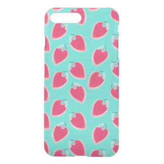 Cute Strawberry Fruit Pattern iPhone 8 Plus/7 Plus Case