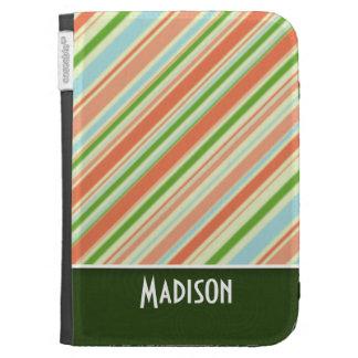 Cute Striped Kindle 3 Cover