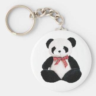 Cute Stuffed Panda Key Ring