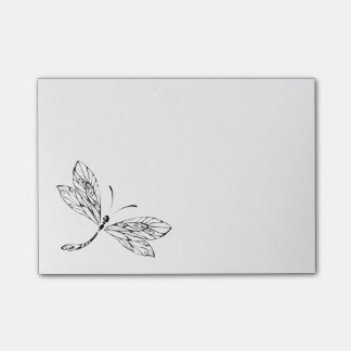 Cute Stylized Dragonfly Post-it Notes