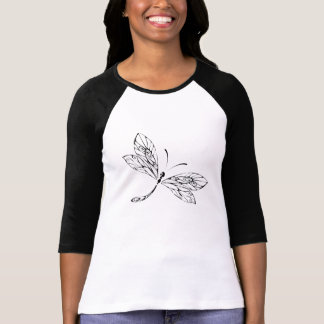Cute Stylized Dragonfly T-Shirt