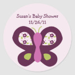 Cute Sugar Plum Butterfly Stickers/Envelope Seals