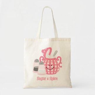 Cute Sugar & Spice Tote Bag